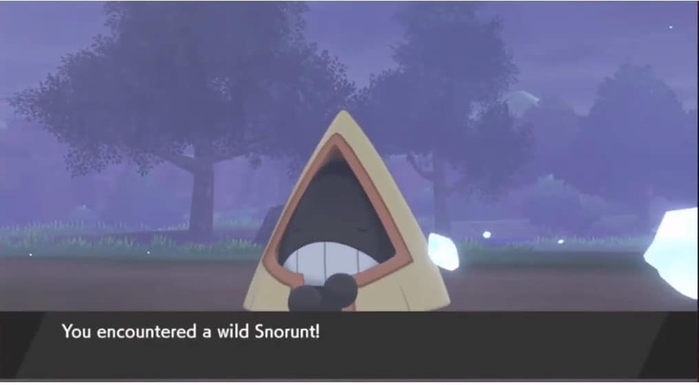 Pokemon Sword and Shield Snorunt Locations, How to Catch and Evolve