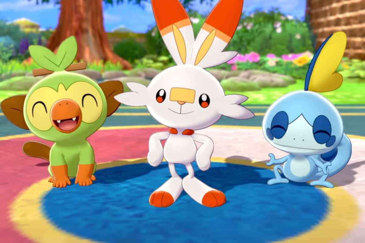 Pokemon Sword and Shield Best Starter Pokemon