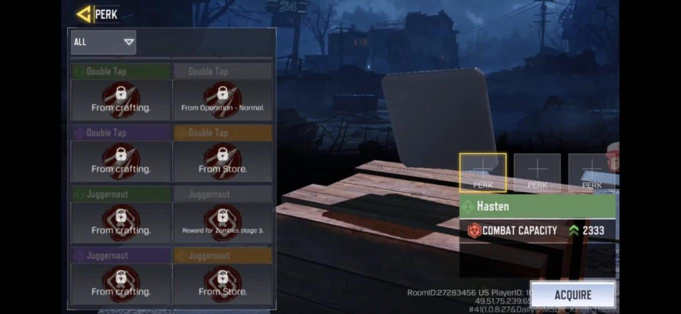 Call of Duty Mobile Zombies Perks Locations, Best Perks