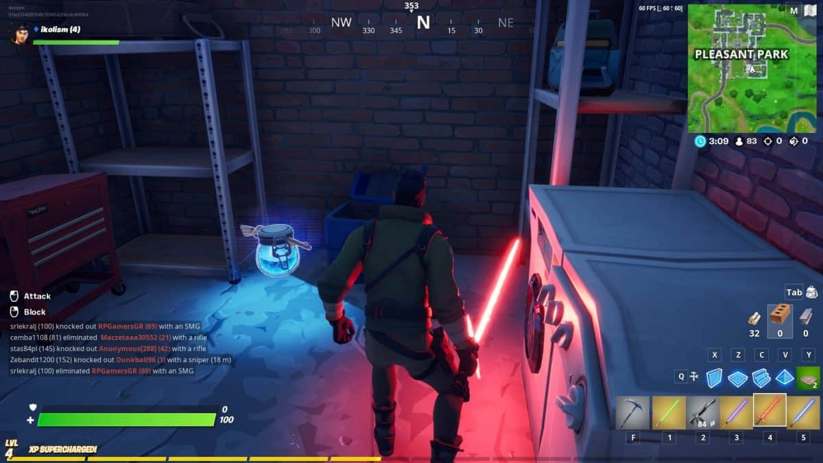 Where to Find Lightsabers in Fortnite Chapter 2