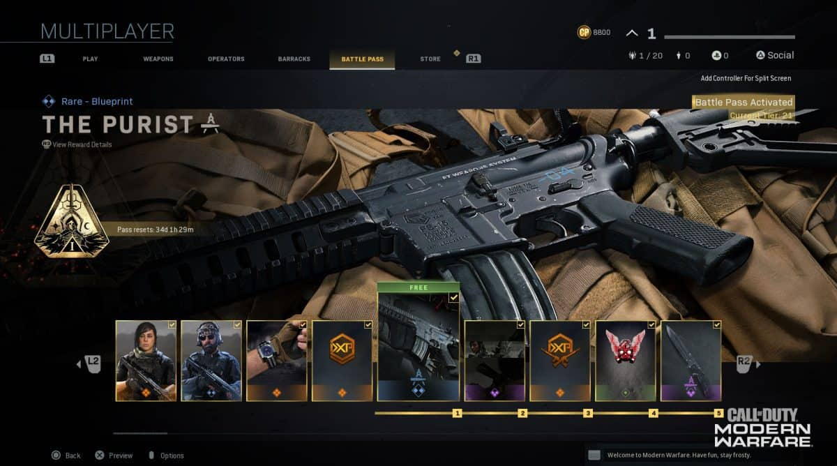 Fastest Way to Level Up Battle Pass in Modern Warfare