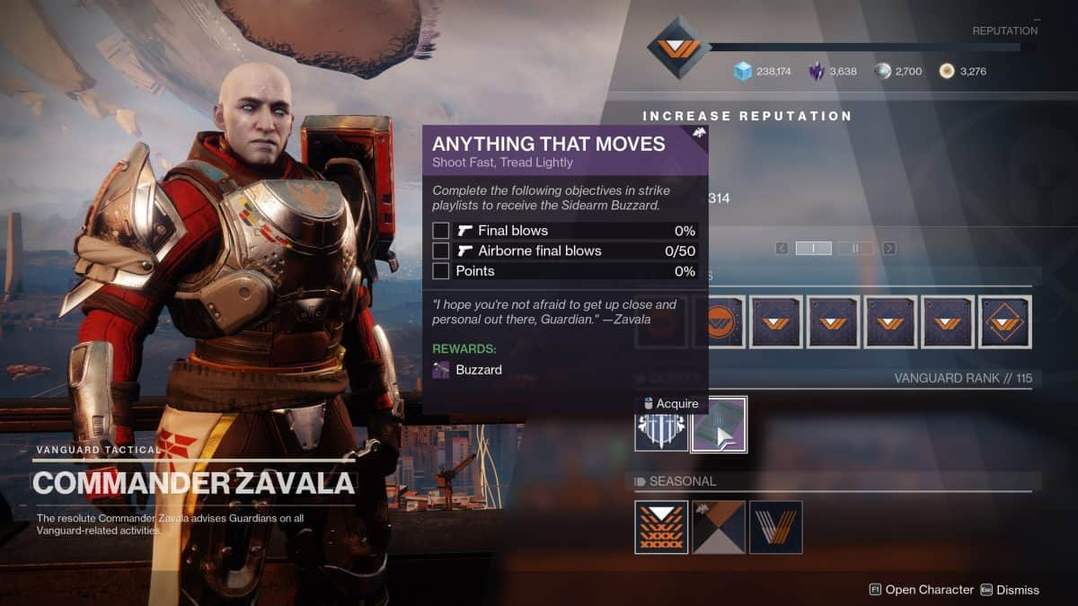 How To Get Buzzard Ritual Weapon in Destiny 2