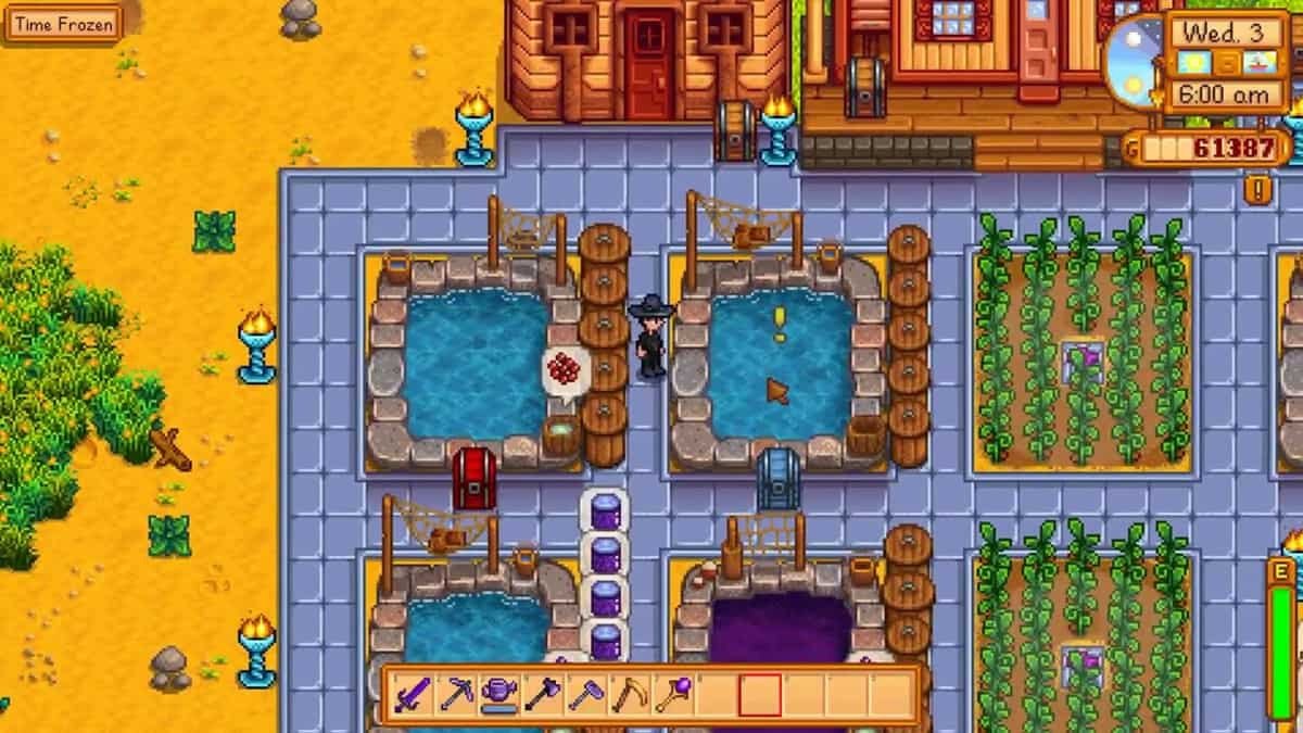 How to Build a Fish Pond in Stardew Valley