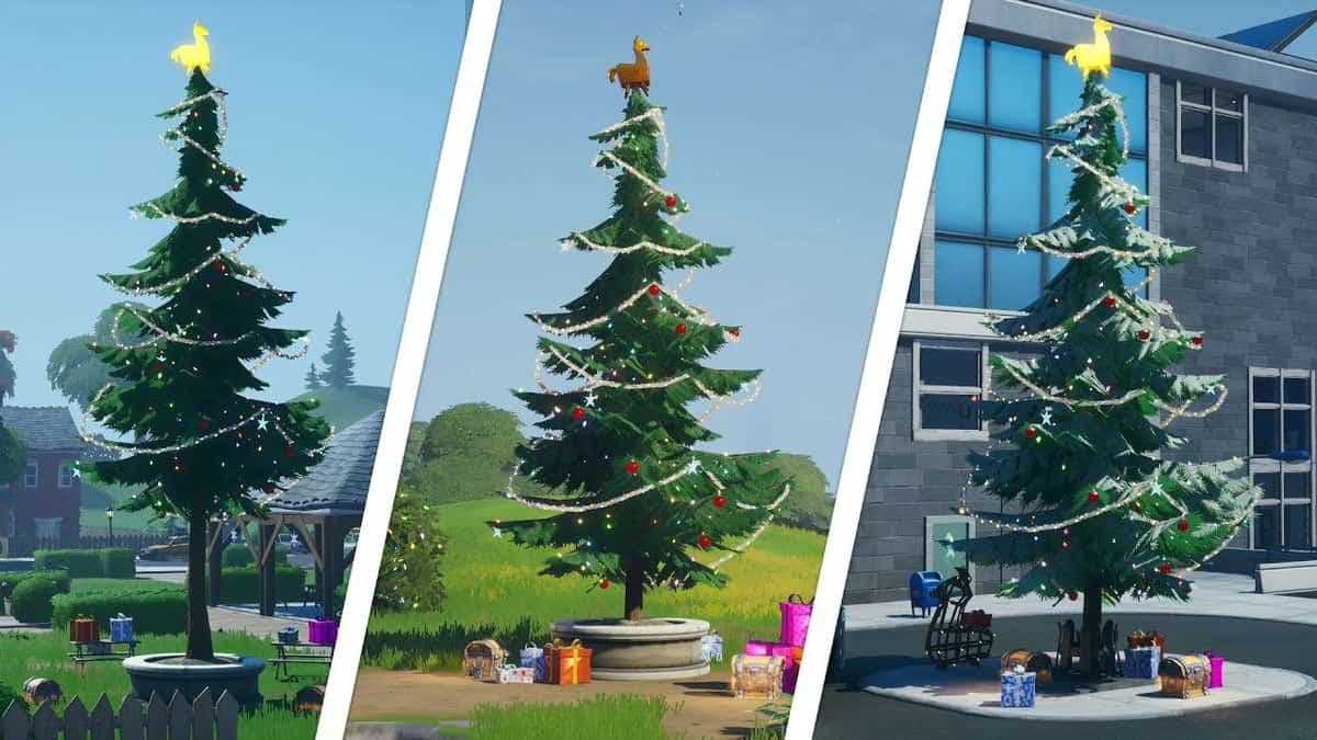 Fortnite Chapter 2 Holiday Tree Locations Guide