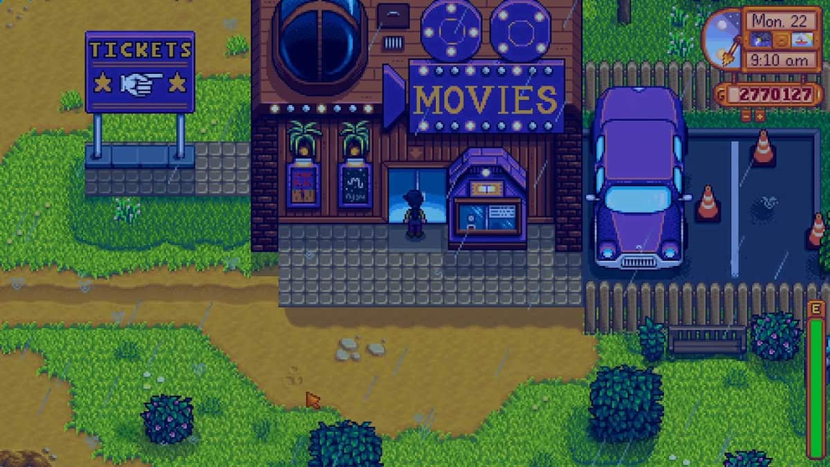 How to Unlock Movie Theater in Stardew Valley