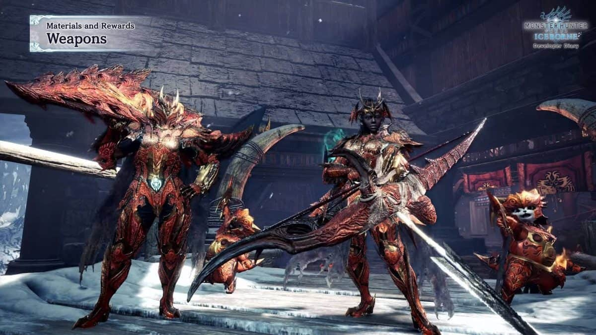 Monster Hunter World Safi'Jiva Weapons Guide