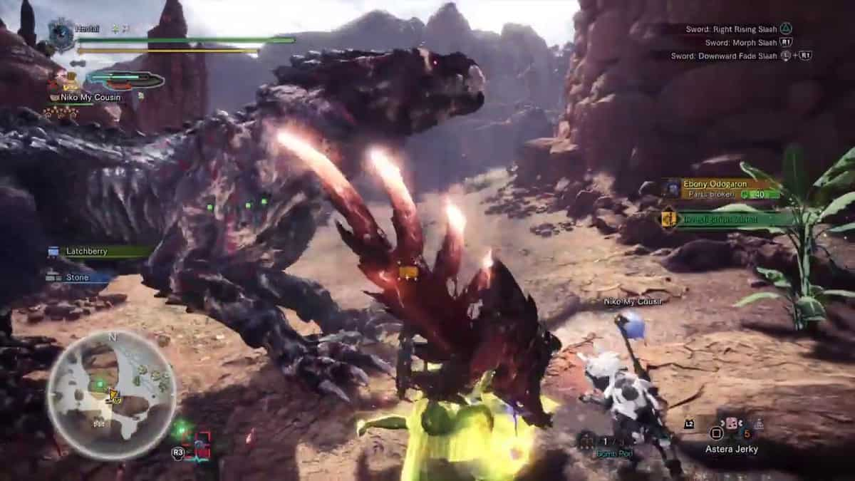 Monster Hunter World Beef is Never a Mi-steak Event Quest