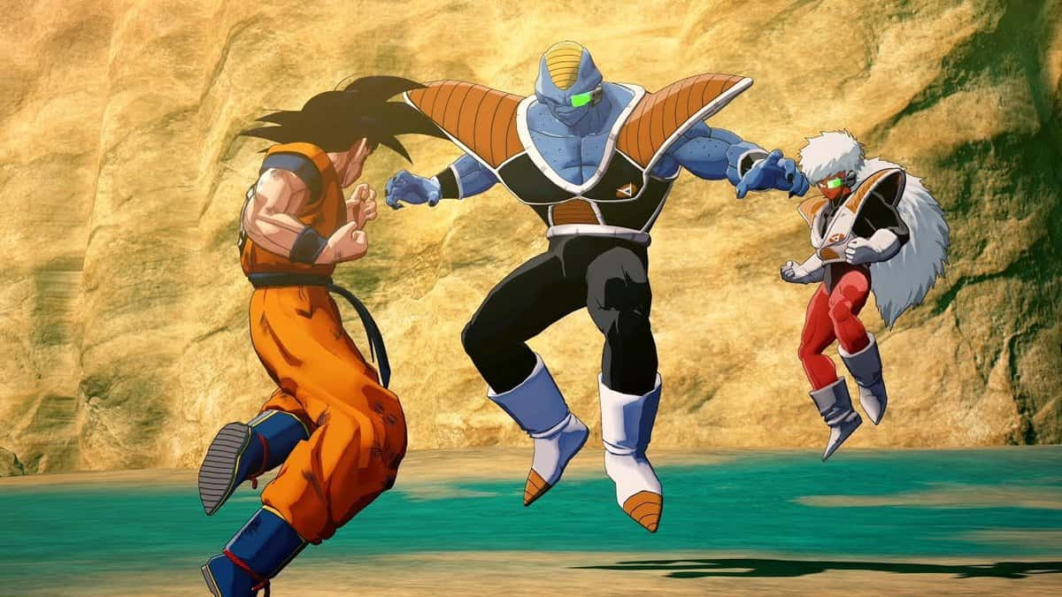 Beat Burter and Jeice in Dragon Ball Z: Kakarot