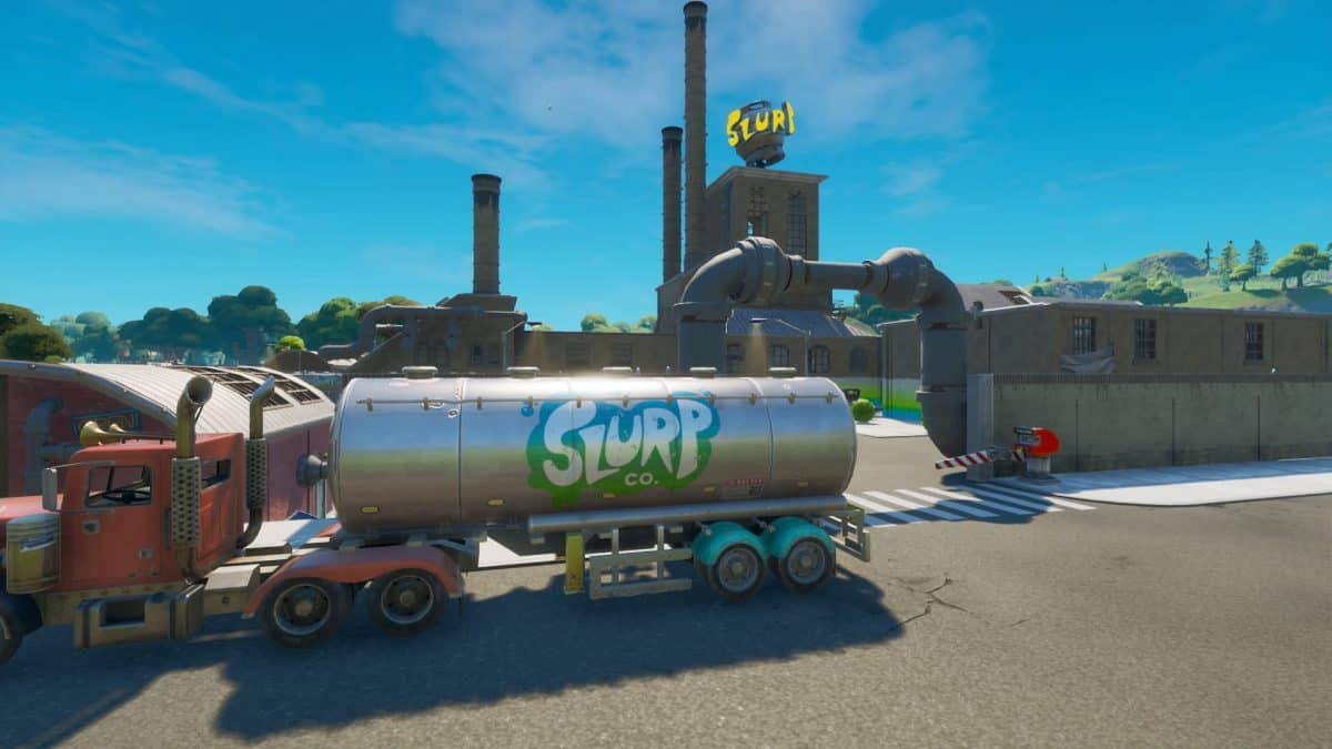 Fortnite SLURP Locations to Destroy Barrels, Trucks or Silos
