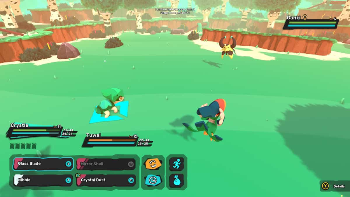 Temtem Ganki Locations, How to Catch, Evolve and Stats