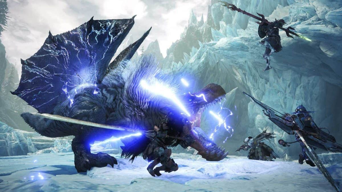 Monster Hunter World Iceborne Tempered Azure Mane Farming Guide