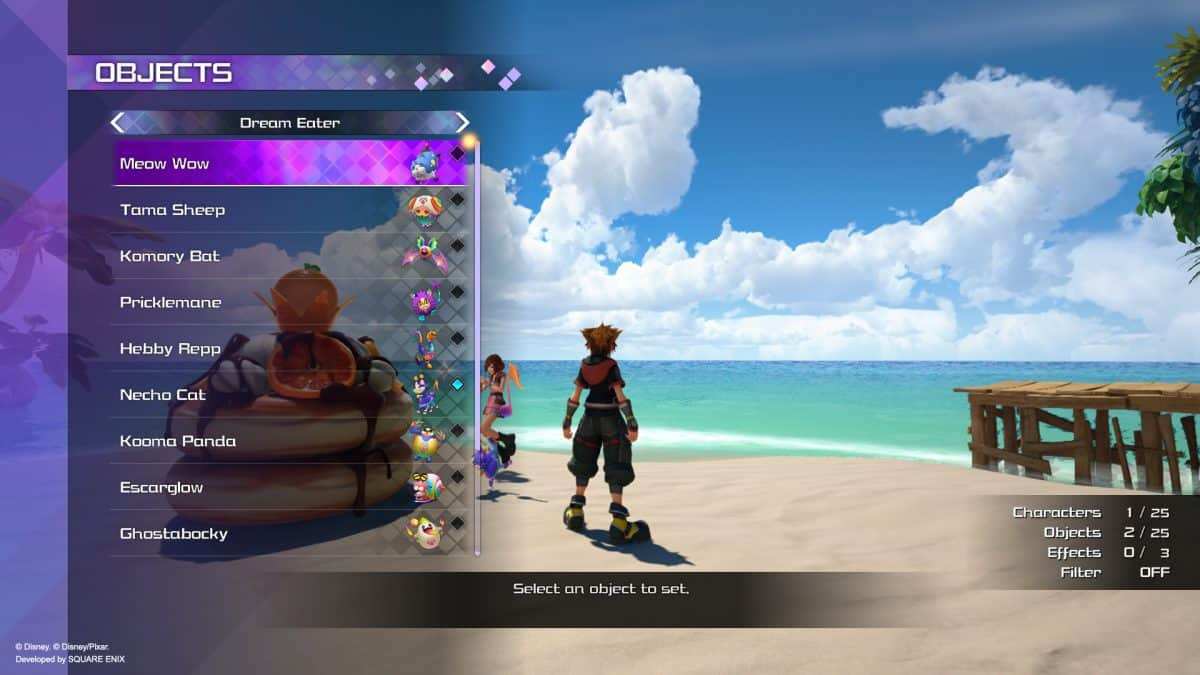 Kingdom Hearts 3 ReMind Premium Menu Guide