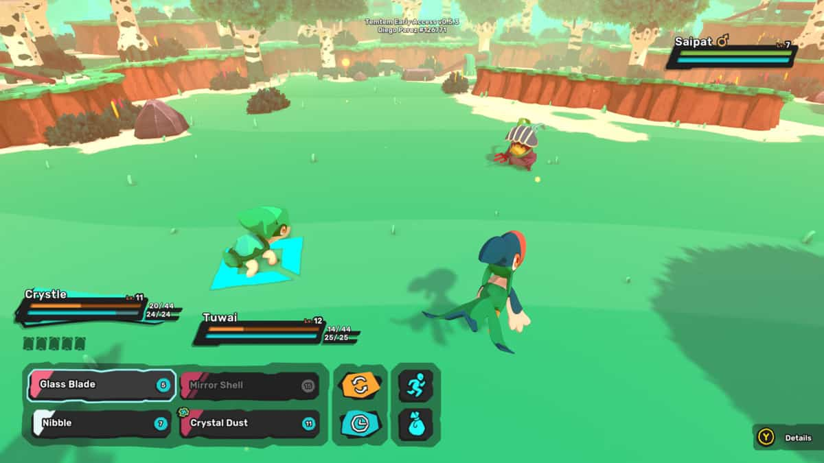 Temtem Saipat Locations and how to catch