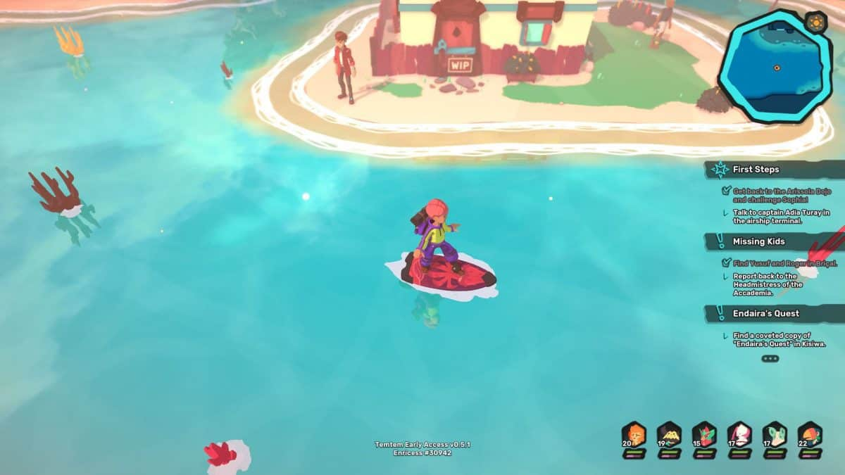 How to Get a Surfboard in Temtem