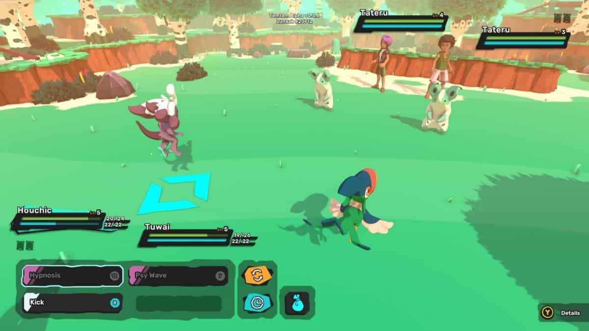 Temtem Tateru Locations, How to Catch, Evolve and Stats