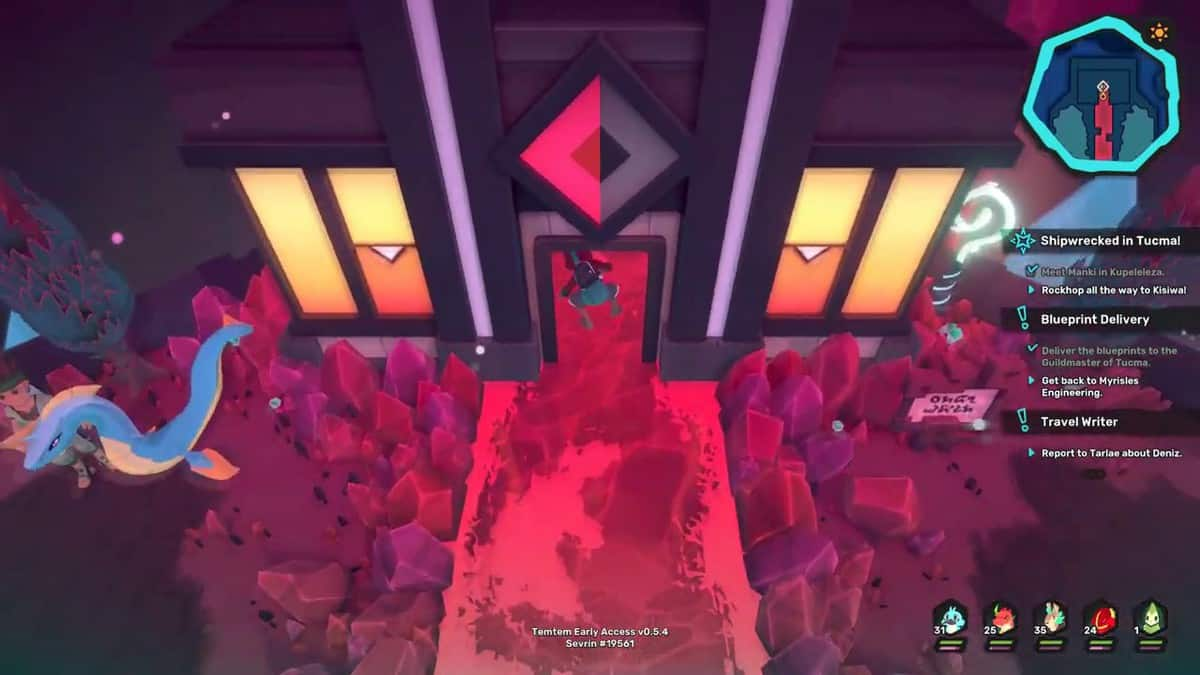 Temtem Shipwrecked in Tucma Quest Guide