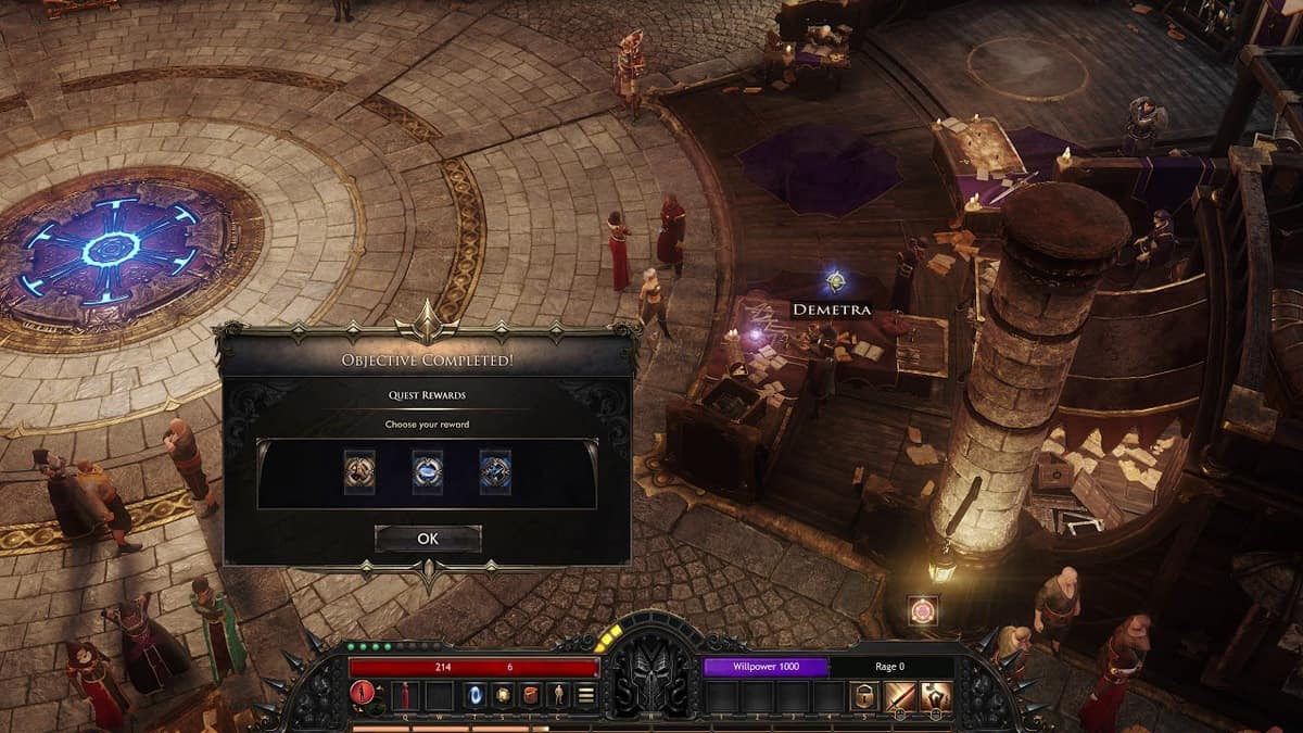 Wolcen Bane of the Storm Quest