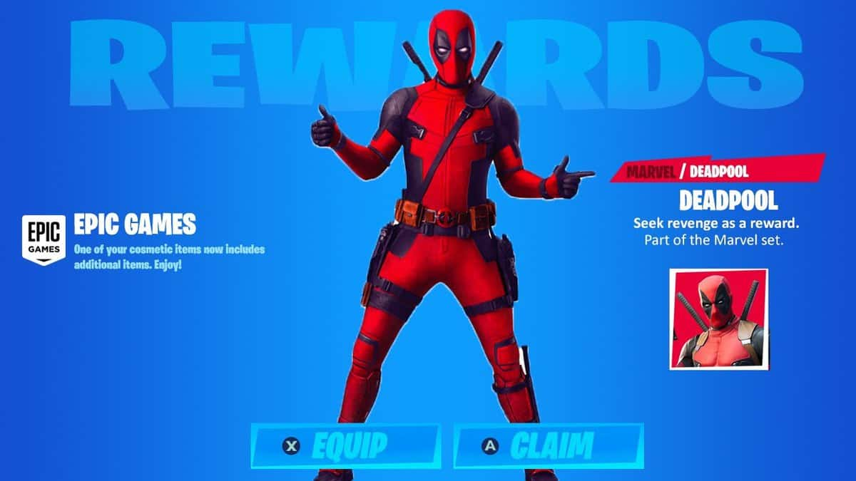 How to Get The Deadpool Skin in Fortnite Chapter 2 Season 2