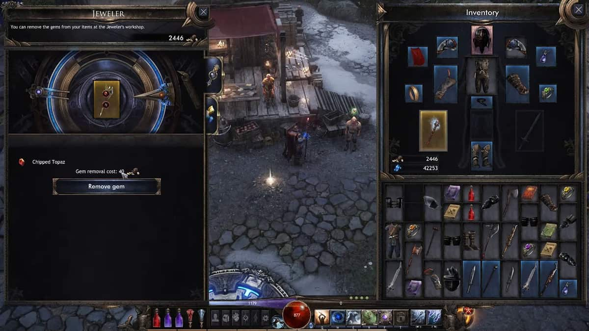 Wolcen: Lords of Mayhem Gems