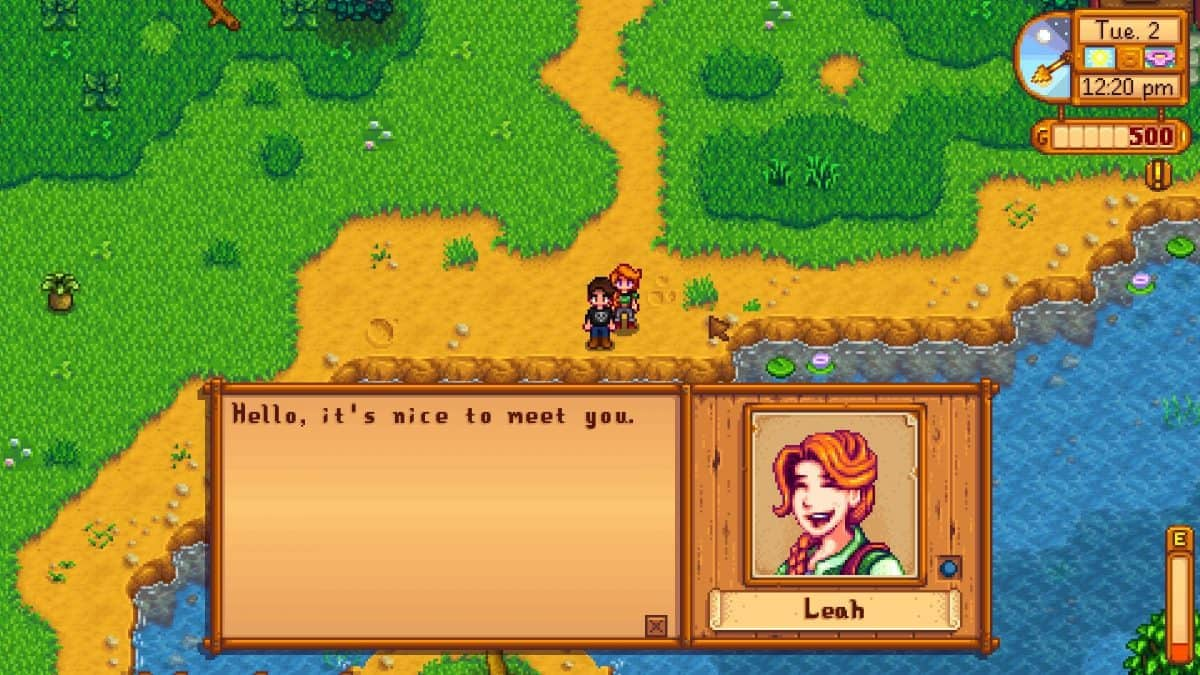 Stardew Valley Leah Gifts Guide