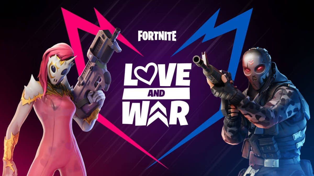 Fortnite Chapter 2 Love and War Challenges Guide