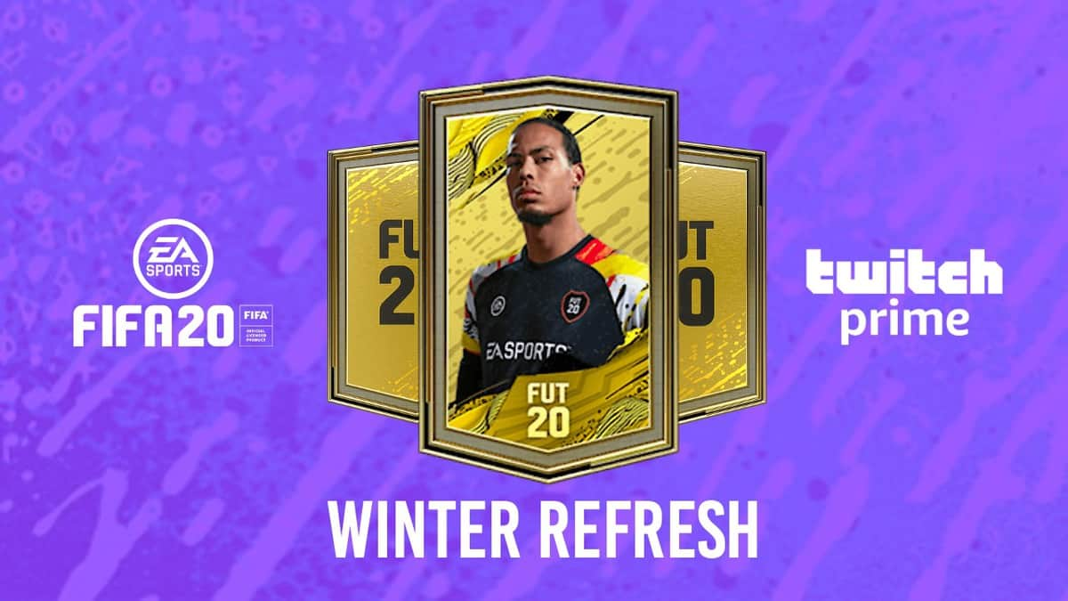 How to Get FIFA 20 Twitch Prime FUT Winter Refresh Pack