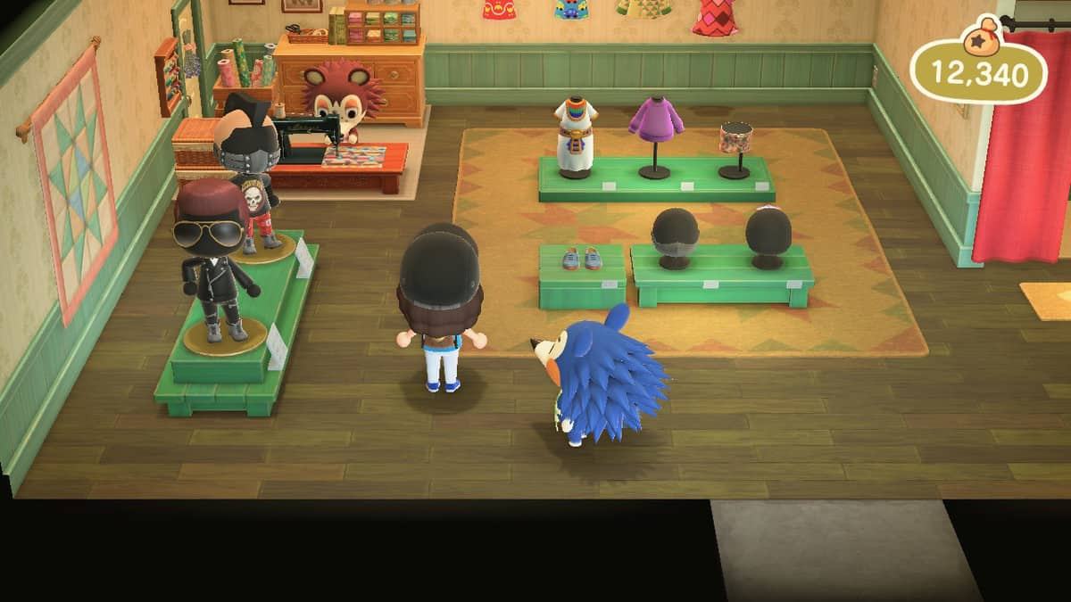 Animal Crossing New Horizons Able Sisters Tailor Shop