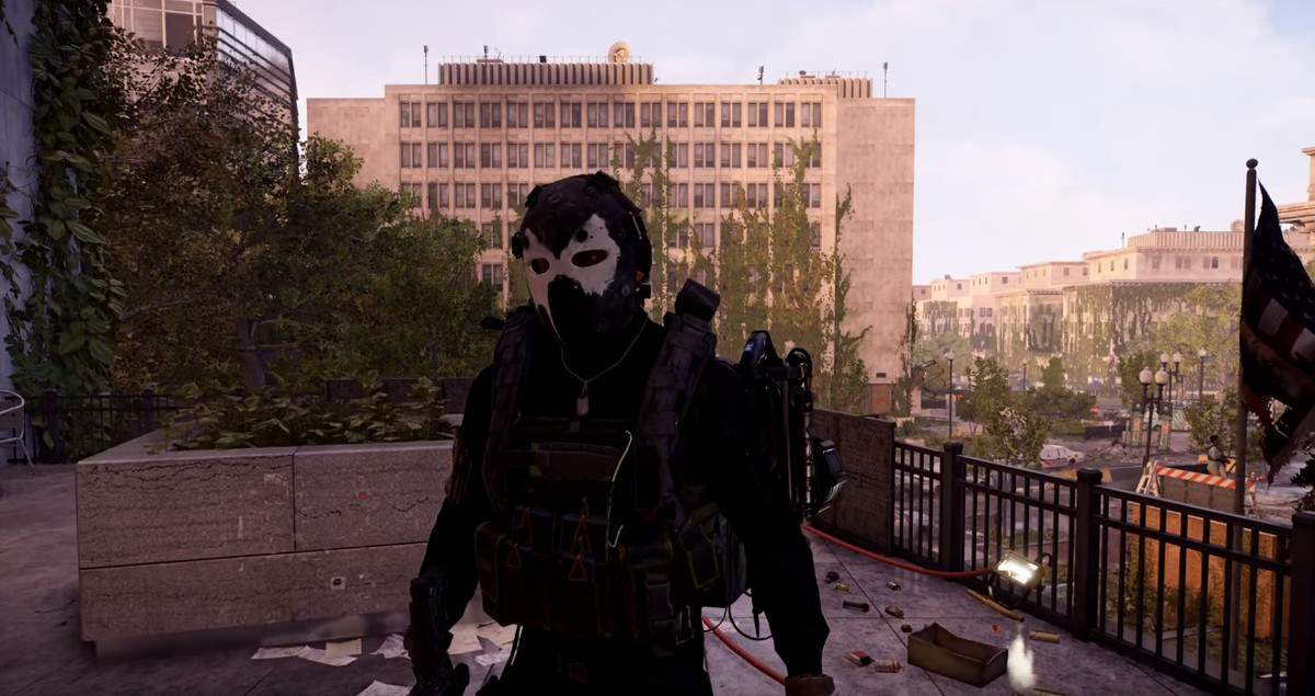 How to Get The Angel Hunter Mask in The Division 2