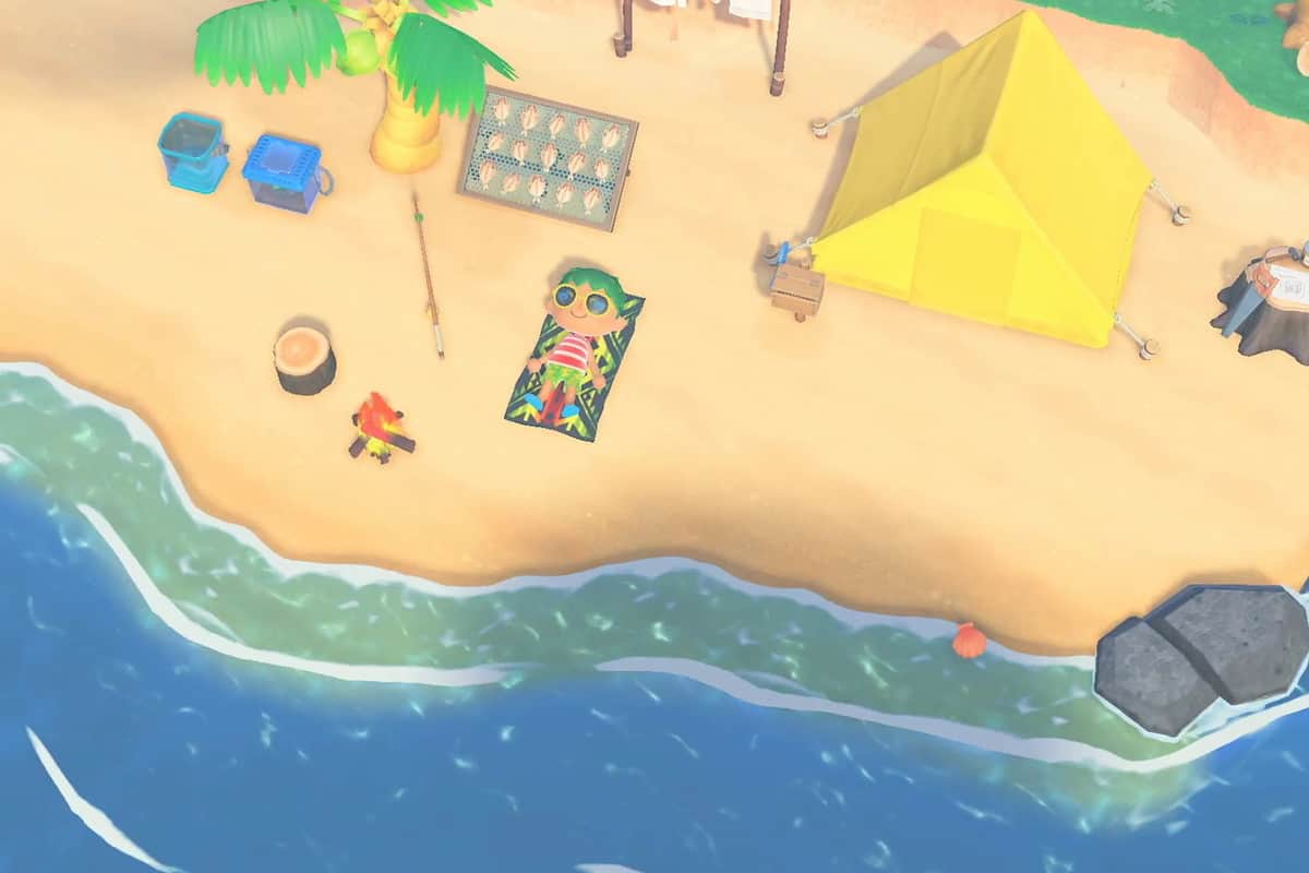 Animal Crossing New Horizons Best Tent Locations Guide