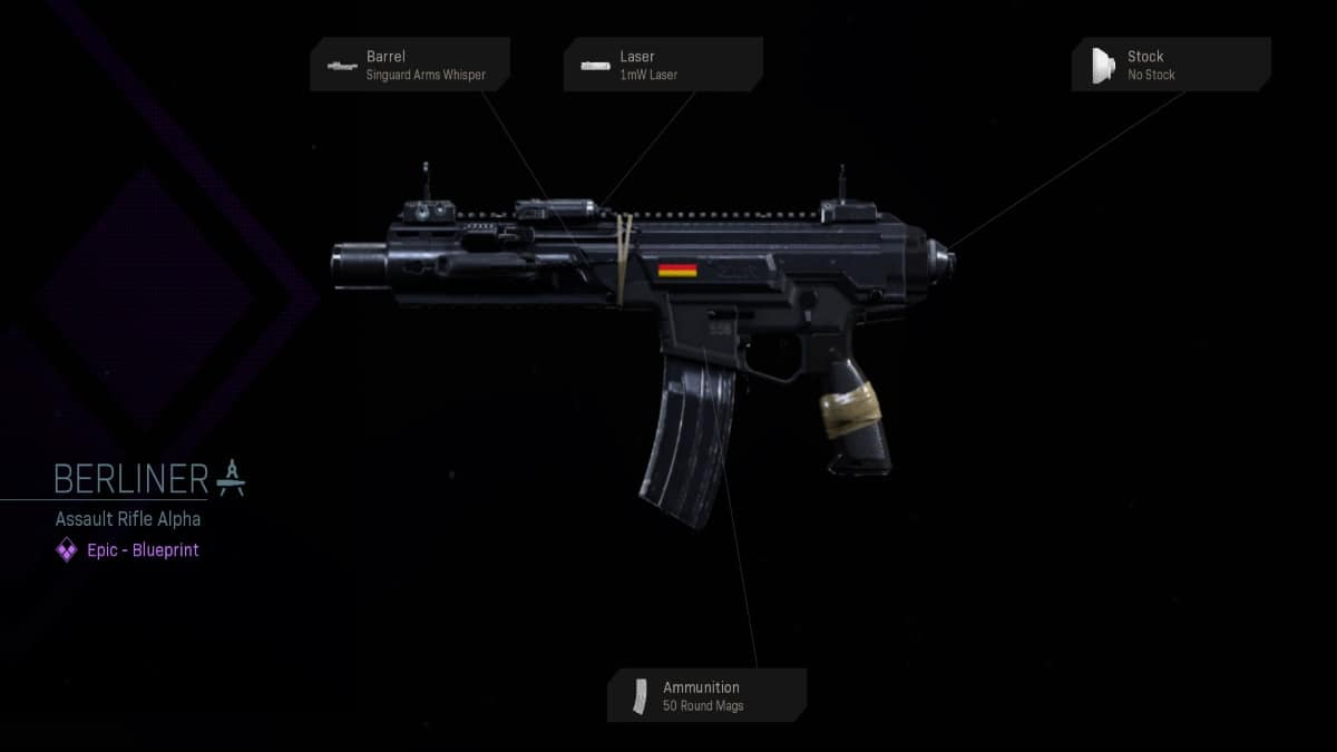How to Get Berliner Assault Rifle in Call of Duty Warzone