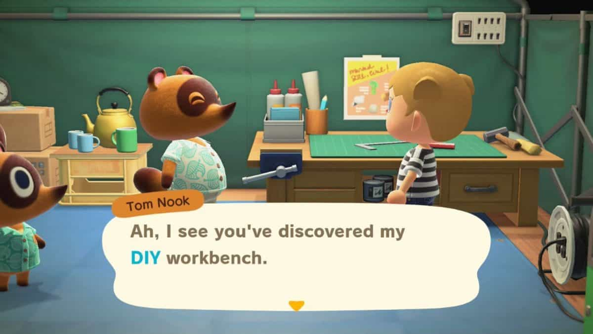 Animal Crossing New Horizons Diy Crafting Guide Segmentnext