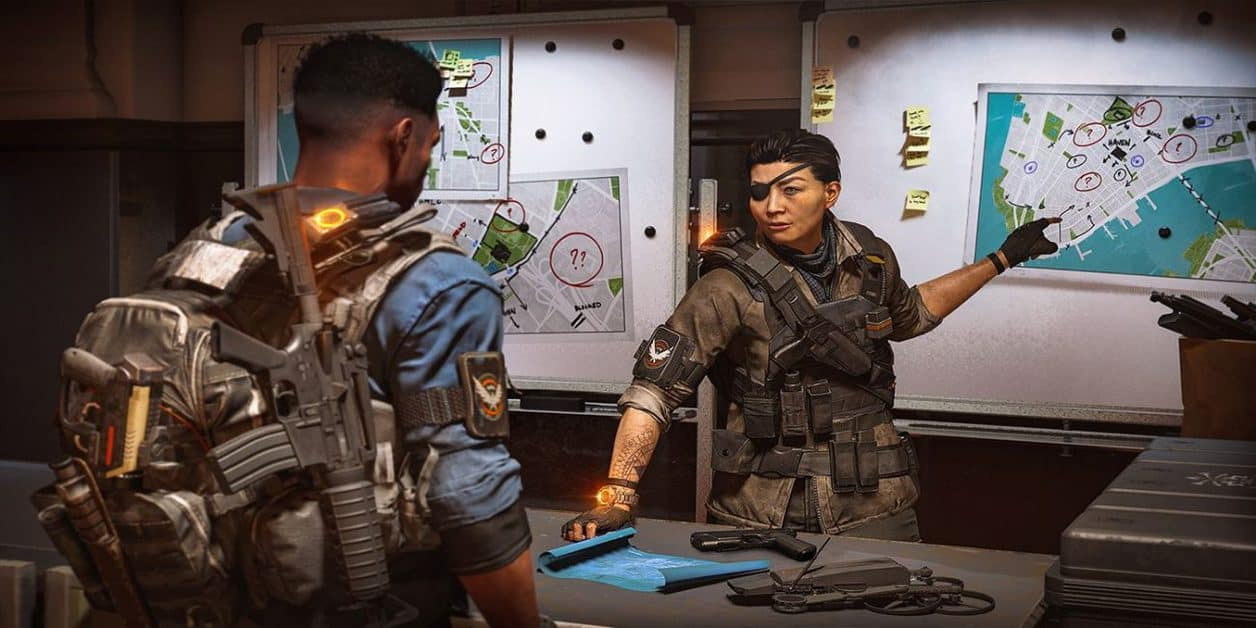 The Division 2 Warlords of New York Faye Lau Comms Collectibles Guide