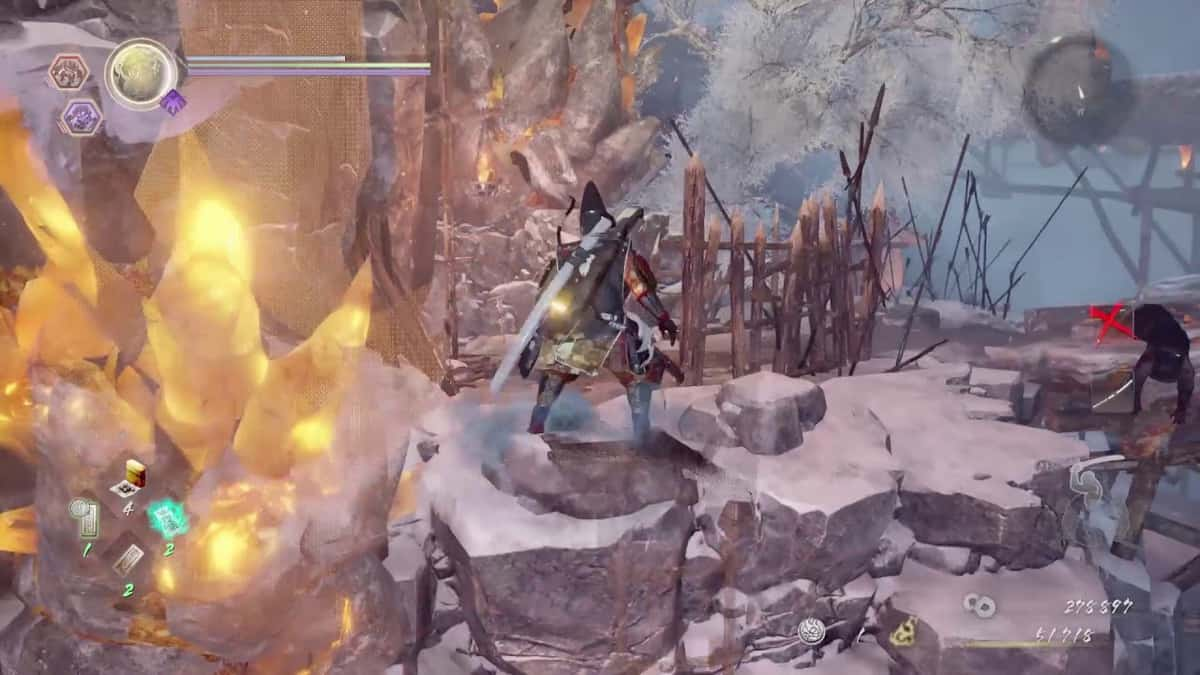 Nioh 2 The Hollow Fortress Walkthrough