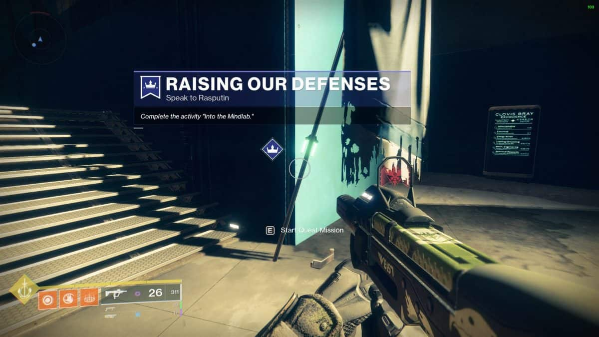 Destiny 2 Into the Mindlab Quest Guide