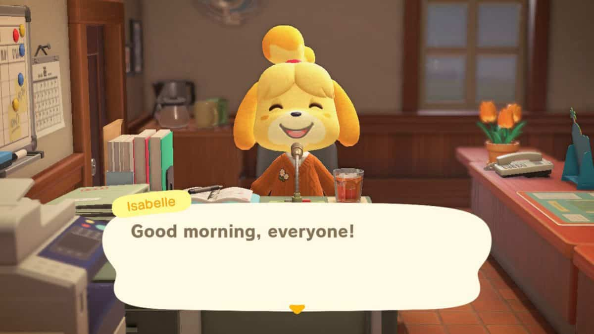 How to Unlock Isabelle in Animal Crossing New Horizons