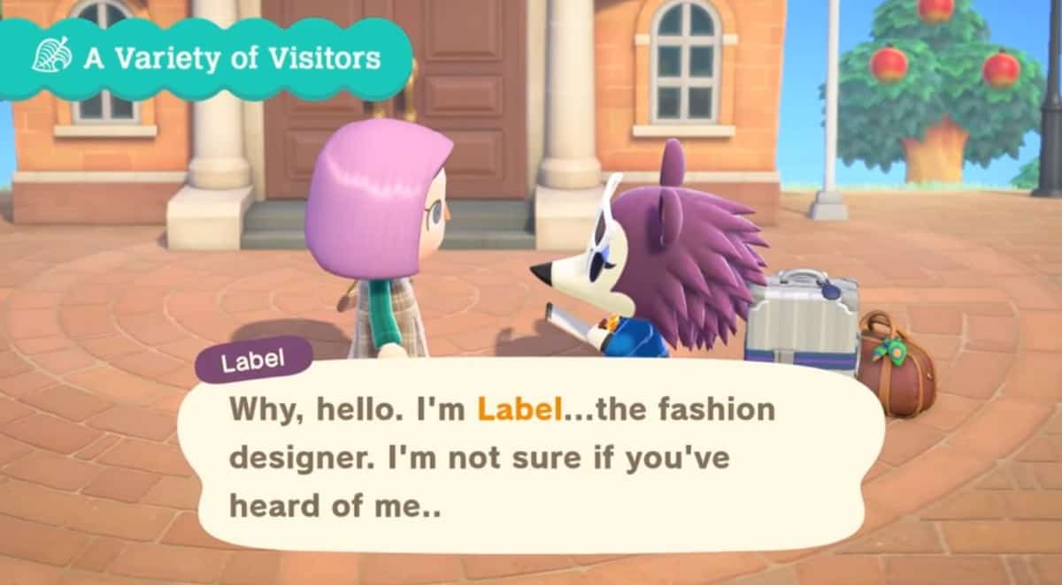 How to Meet Label in Animal Crossing New Horizons