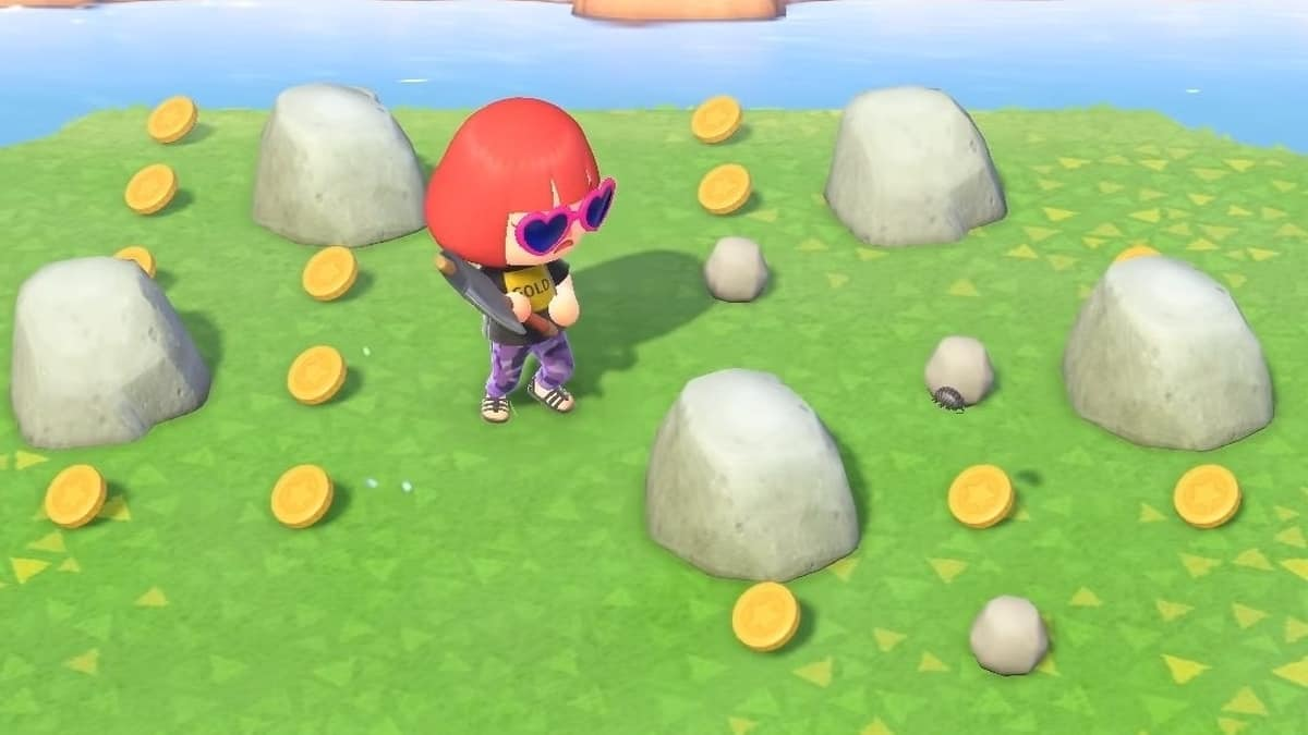 Animal Crossing New Horizons Money Rock Guide