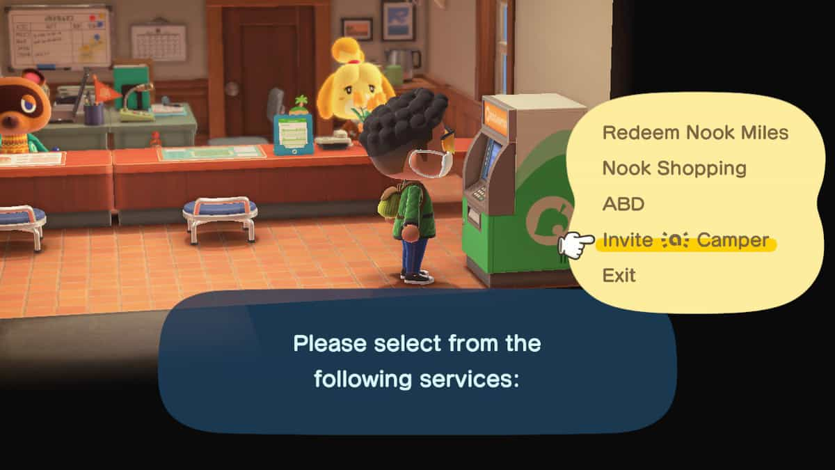Animal Crossing New Horizons Nook Special Services