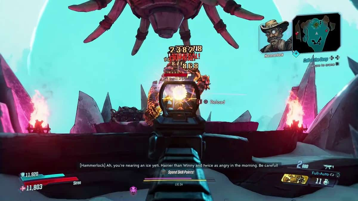 Borderlands 3 Hammerlock's Occult Hunt Locations Guide