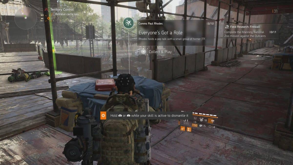 The Division 2 Warlords of New York Paul Rhodes Comms Collectibles Guide