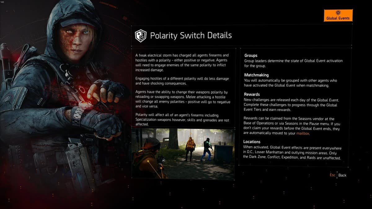 The Division 2 Polarity Switch Event Guide