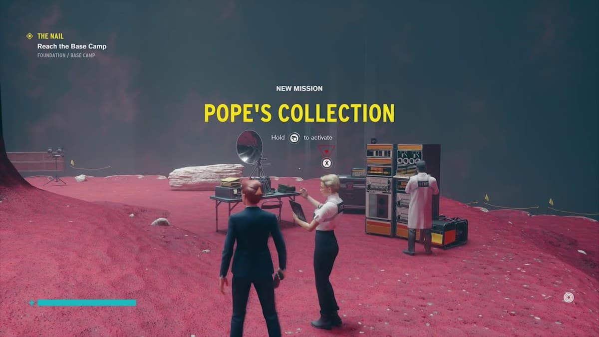 Control Foundation DLC Pope's Collection