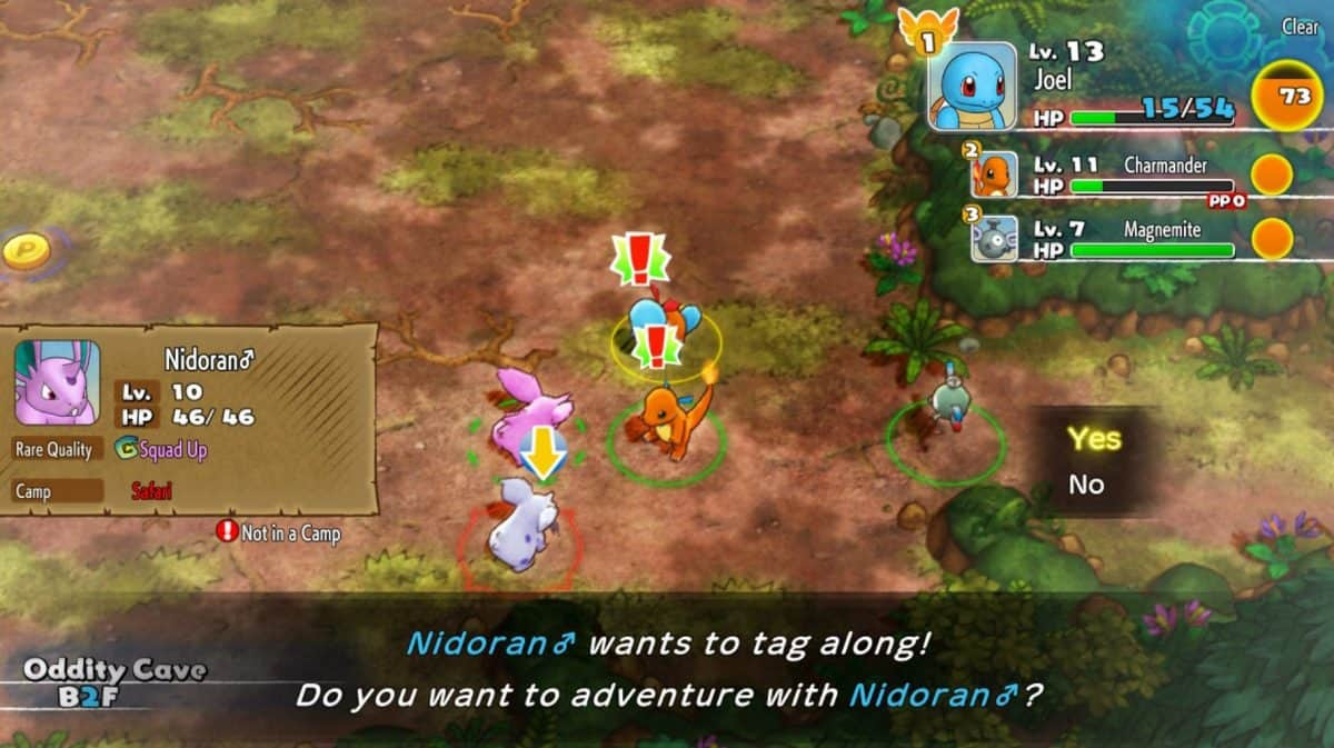 How to Recruit Pokemon in Pokemon Mystery Dungeon DX