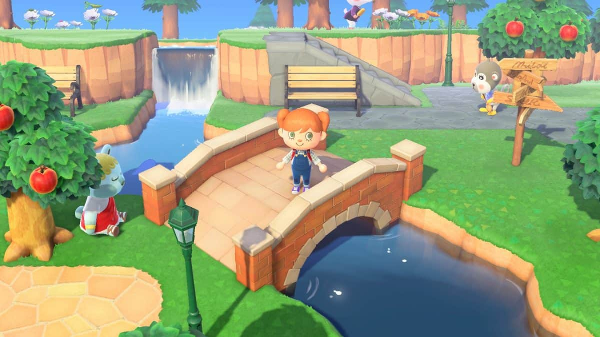 How to Cross Rivers in Animal Crossing New Horizons