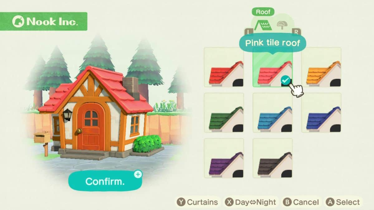 How to Change Roof Color in Animal Crossing New Horizons