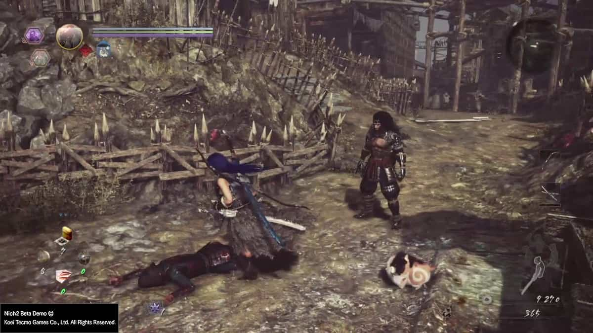 Nioh 2 Scampuss Locations Guide