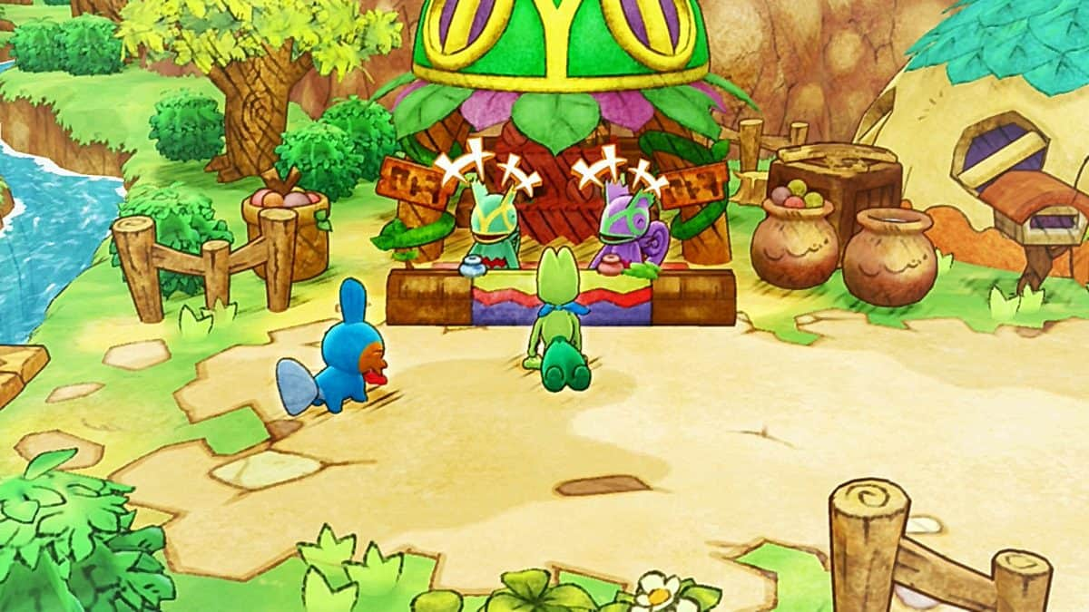 Pokemon Mystery Dungeon DX Pokemon Square Guide
