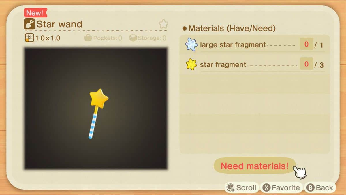 How to Get Star Wand in Animal Crossing New Horizons