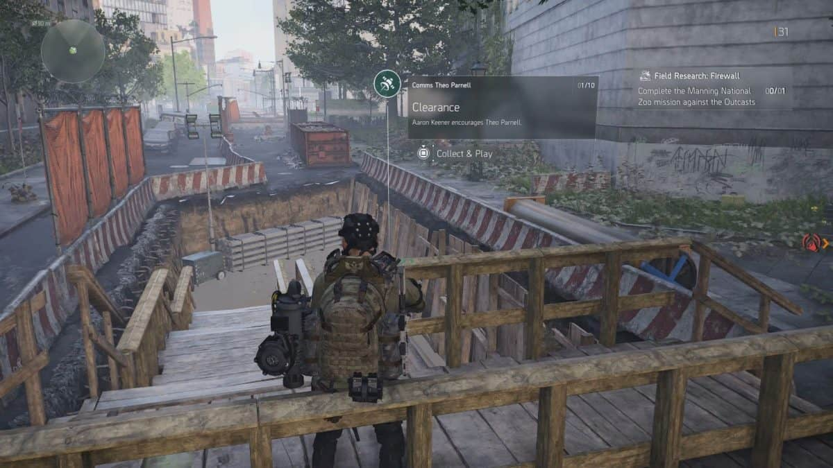 The Division 2 Warlords of New York Theo Parnell Comms Collectibles Guide