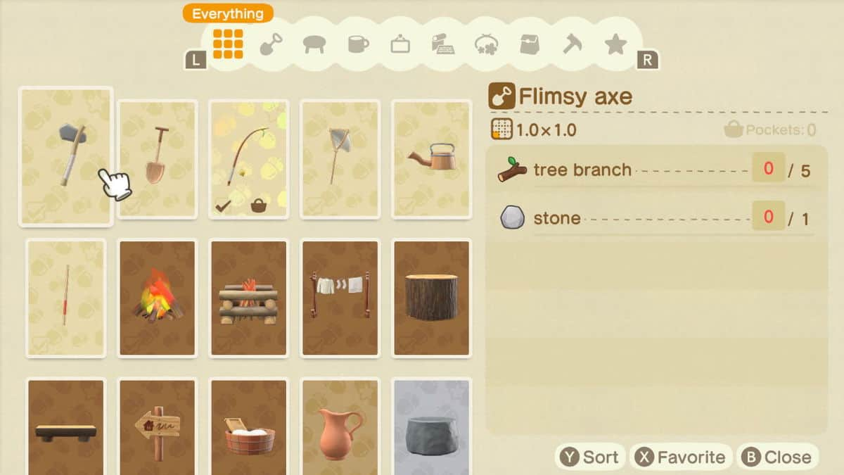 Animal Crossing New Horizons Tools Guide